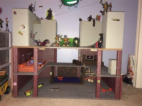 Diy Tmnt Lair Son Built For Grandson Because Stores