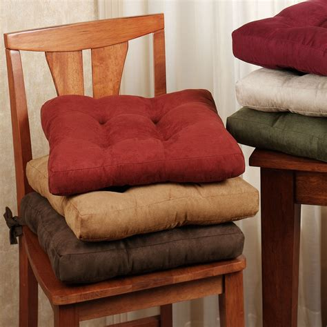 Tie On Cushions For Dining Chairs with How To Choose Dining Chair Cushions With Ties