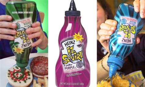 different colored ketchup 19 questions we still from childhood that need