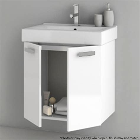 22 Inch Vanity Cabinet by Modern 22 Inch Cubical Vanity Set With Storage Cabinet