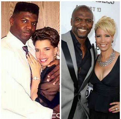 terry crews young photos classic terry crews and his wife before meets after photo
