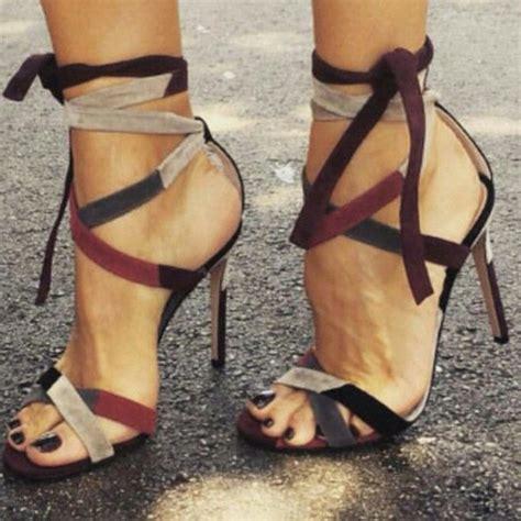 high heel sandels vogue cross stiletto high heel sandals 11594755