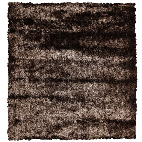 10 x 10 ft area rugs home decorators collection so silky chocolate 10 ft x 10