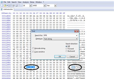 remove vba password hex editor manually removing the password from malicious vba projects