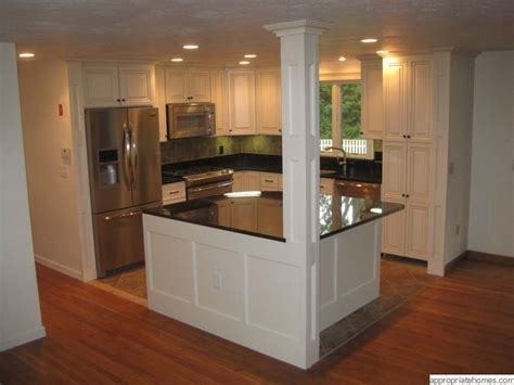 kitchen islands designs with pillars kitchen with