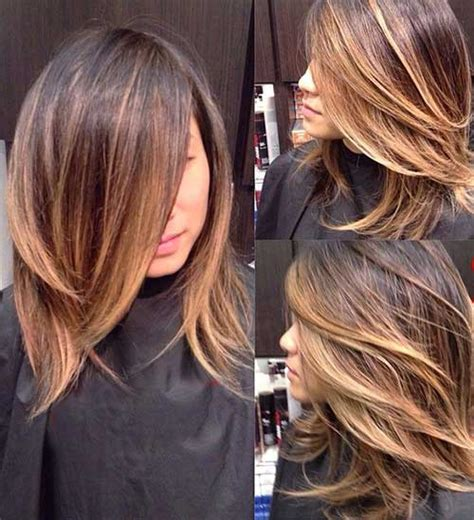 ombre hair for medium length hair 20 best short to medium length haircuts short hairstyles