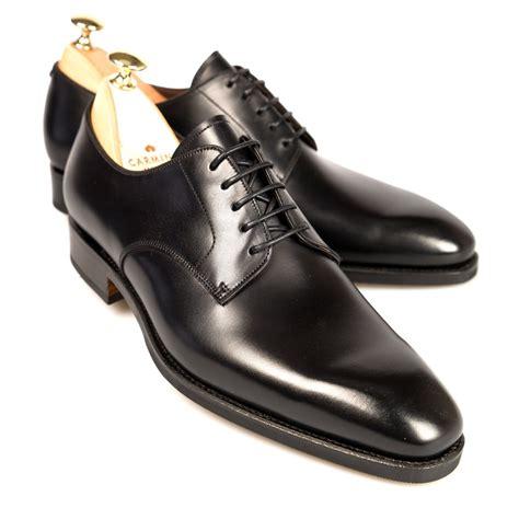 shoes black s black derby shoes carmina