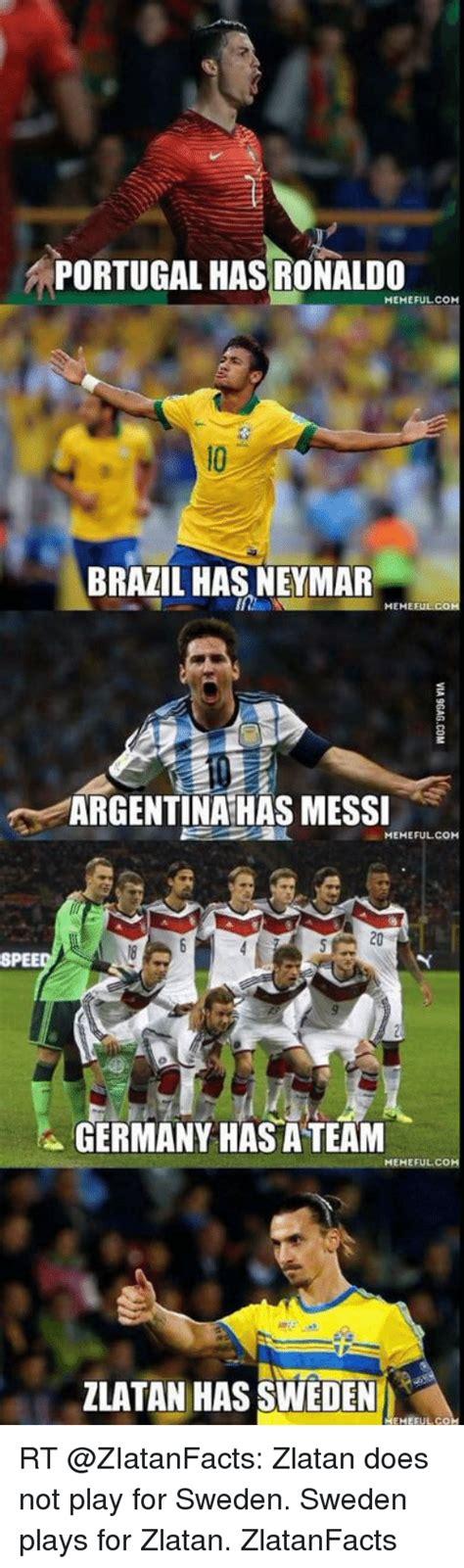 Brazil Soccer Meme - portugal has ronaldo meme fulcom brazil has neymar he