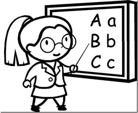 dibujos maestra infantil az dibujos para colorear colorear dibujos maestra de escuela