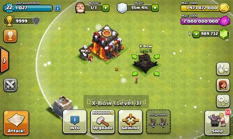 mooded apk clash of clans unlimited mod hack apk terbaru by vinsi