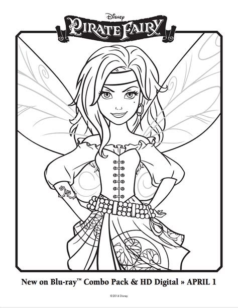 tinkerbell birthday coloring pages the pirate fairy coloring sheets disney s the pirate