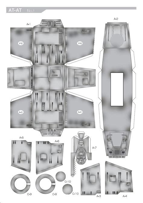 Papercraft At At - sirius replicas large scale models at at free