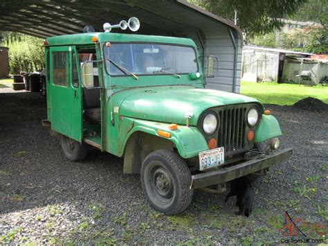 postal jeep 1970 jeep dj5a quot dispatcher quot lh drive utility postal