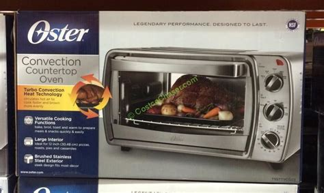 Oster Convection Countertop Oven Costco by Costco 871951 Oster 6 Slice Convection Countertop Oven Box