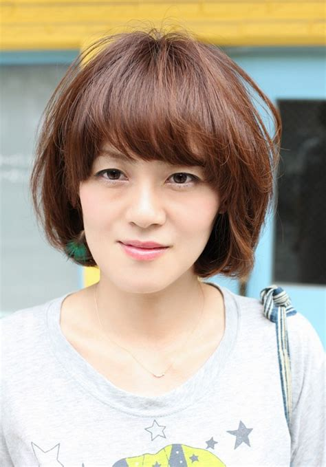 hairstyles with bangs japanese short asian brown hairstyle with bangs hairstyles weekly