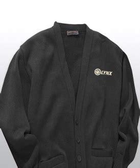 design lab online lynx cardigan sweater unisex black lynx