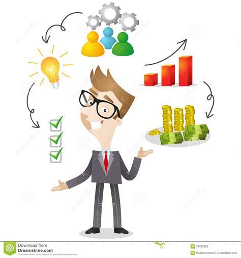 imagenes animadas empresariales personaje de dibujos animados hombre de negocios acertado