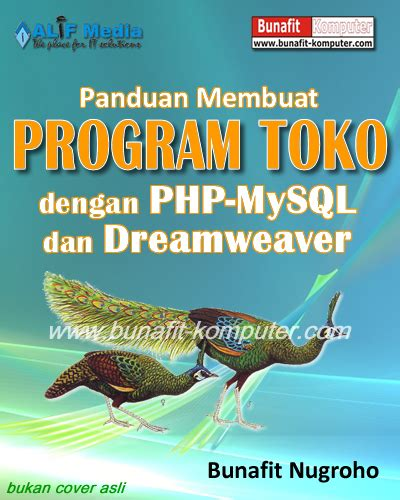 buku membuat website dengan php dan mysql panduan skripsi membuat aplikasi web program toko dengan