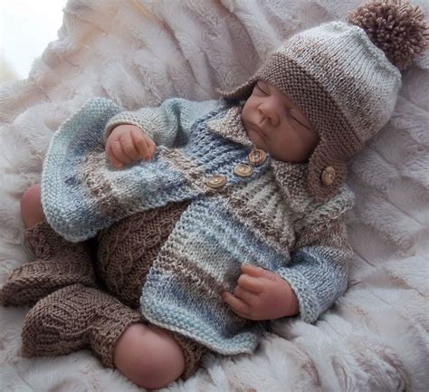 baby knitting patters dk baby knitting pattern to knit baby boys or reborn doll