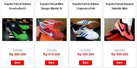 Toko Sepatu Selain Brodo sepatu futsal adidas dan nike asli di sepatufutsalasli