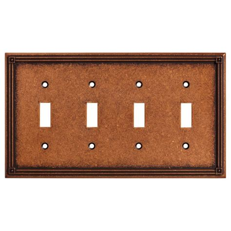 copper kitchen cabinet hardware liberty hardware shop 135773 switchplates sponged copper liberty kitchen cabinet hardware