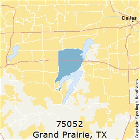 grand prairie texas map best places to live in grand prairie zip 75052 texas