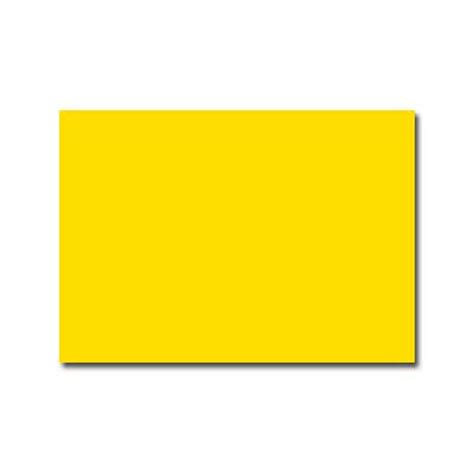 Faire part double rectangle jaune soleil, faire part velin