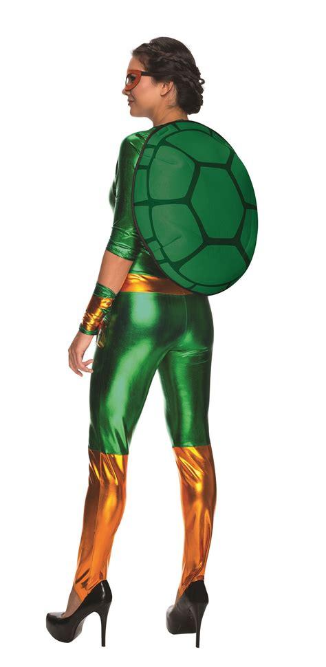sexy ninja turtle halloween costume adult michelangelo women ninja turtle costume 50 99