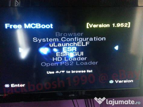 Ngisi Hardisk Ps2 modare soft consola playstation 2 ps2 free mcboot 25