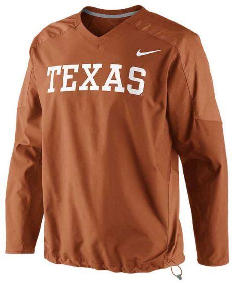 Nike Longhorns Mens Orange Elite Sleeve Polo 1 nike s longhorns dri fit pullover wind jacket in orange for darkorange lyst