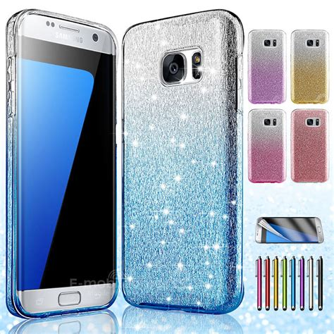 Silicon Casing Hardcase Swarozki Samsung Note Edge bling glitter silicone tpu phone cover for