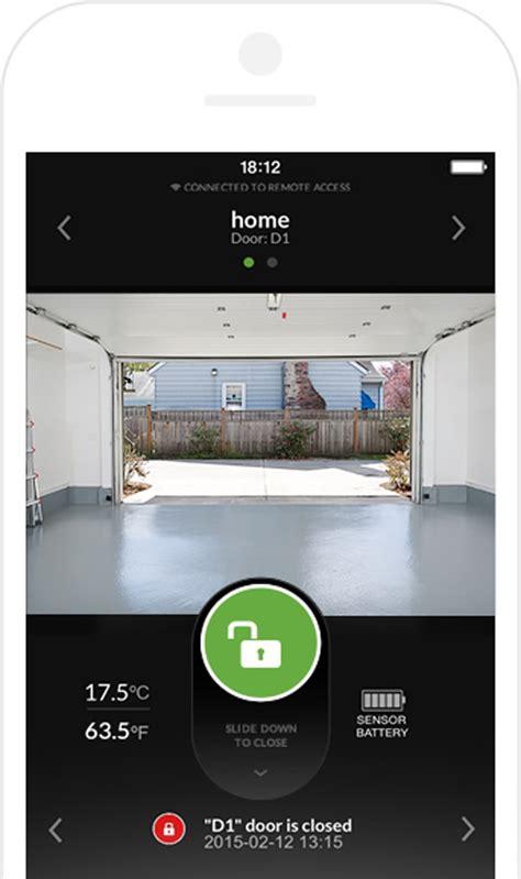 smartphone garage door garage door opener with smartphone controller