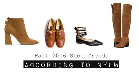 Fall Shoe Trends by 2016 Fall Shoe Trends According To New York Fashion Week