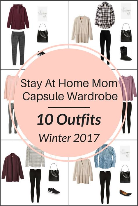 a stay at home capsule wardrobe 10 winter