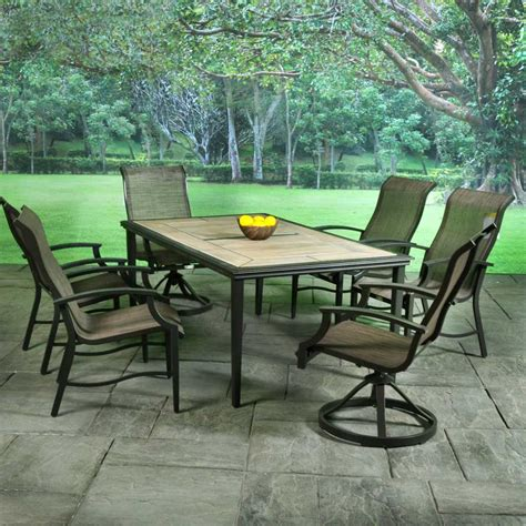 Sling Patio Dining Set Helios Sling Patio Dining Sets American Sale