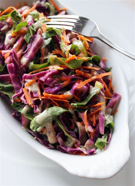 Detox Salada by Carrot And Cabbage Detox Salad Popsugar Fitness
