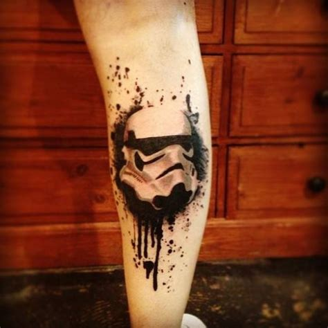 32 star wars tattoos for real fans and geeks styleoholic