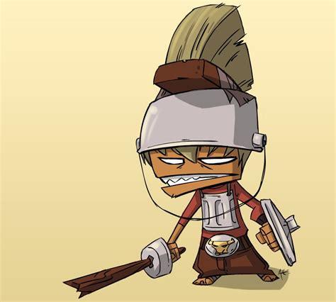 film gladiator cartoon featured geek artist fun cartoon style character art of
