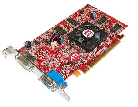 Vga Card Add On ibm 73p9617 128mb pci e graphics card with vga and dvi port ati 109 a33431 00 ebay
