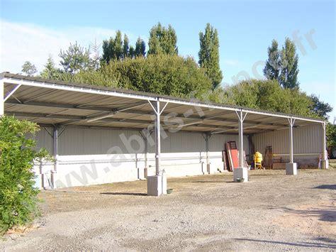 Fabricant Hangar Metallique by Abri M 233 Tal Mono Pente Abris Fabricant D Abris