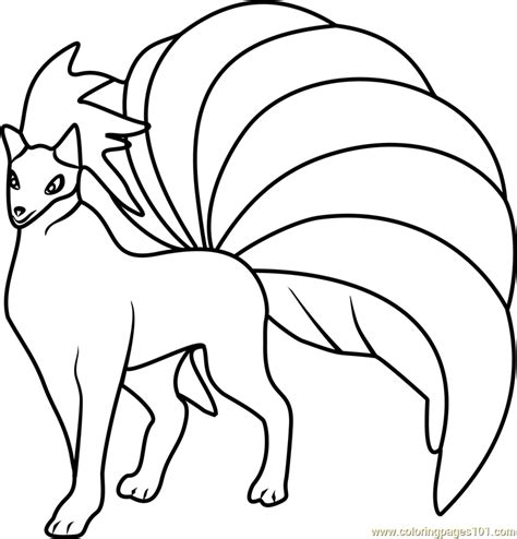 pokemon coloring pages ninetales ninetales pokemon go coloring page free pok 233 mon go