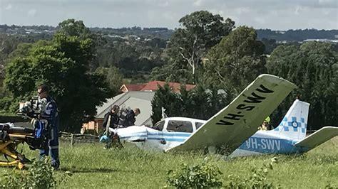 backyard airplane backyard plane crash a bit of a shock central western