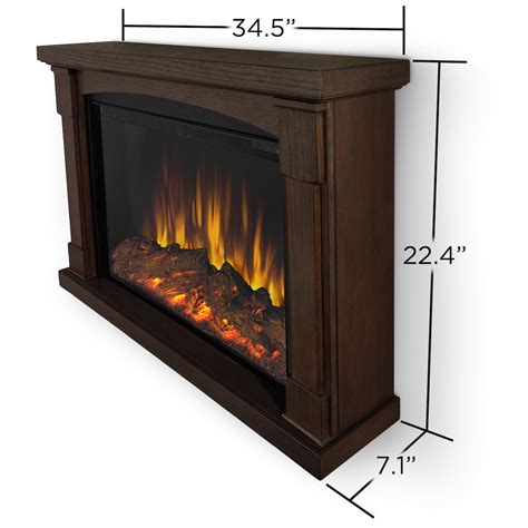 Brighton Fireplace by Real Brighton Slim Line Wall Hung Electric Fireplace