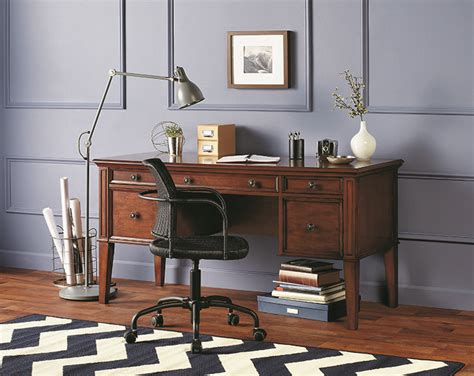 office depot furniture desks realspace 174 picadilly writing desk add character to your