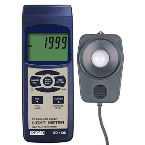 light intensity data logger sd 1128 light intensity meter w datalogging thermometer