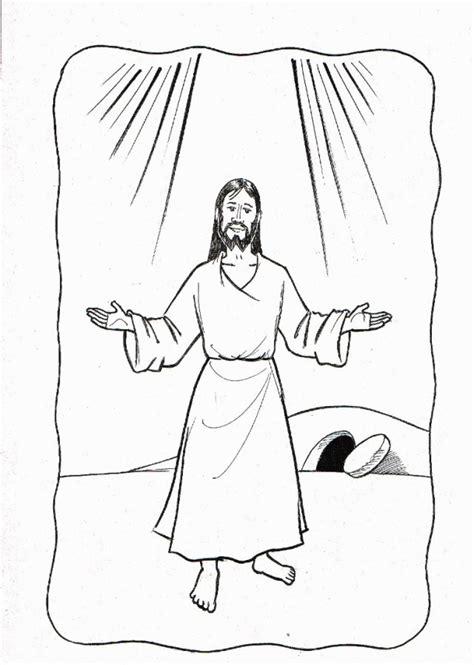 preschool coloring pages about jesus has risen jesus has risen coloring pages coloring home