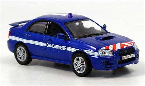 Diecast Subaru subaru impreza wrx gendamerie polizei frankreich 2003