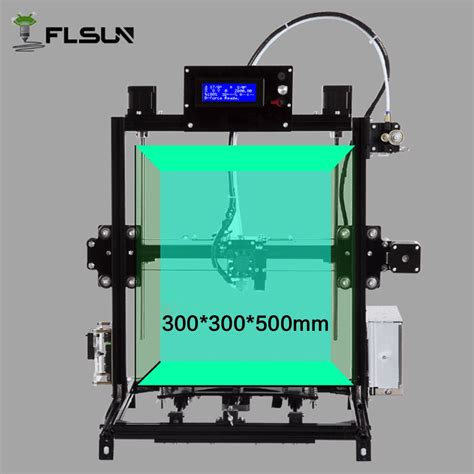 300 Opens Big by Flsun I3 Diy 3d Printer Kit Large Printing Area 300 300