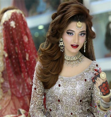 kashees hair style latest pakistani bridal makeup 2017 perfect look trend