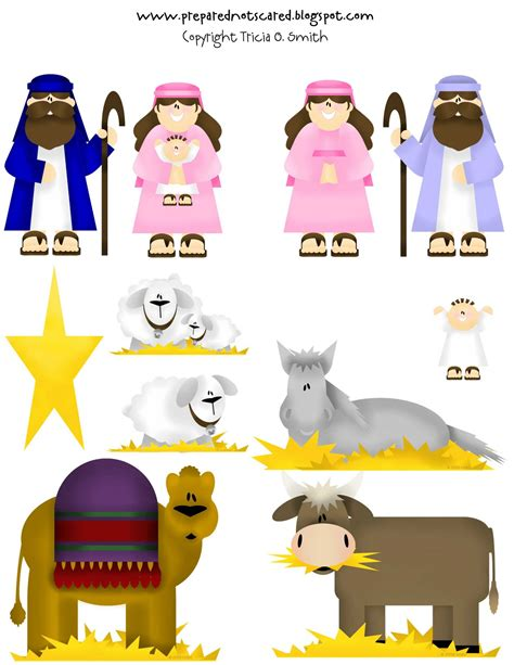 printable nativity scene characters search results for nativity scene paper cutout characters